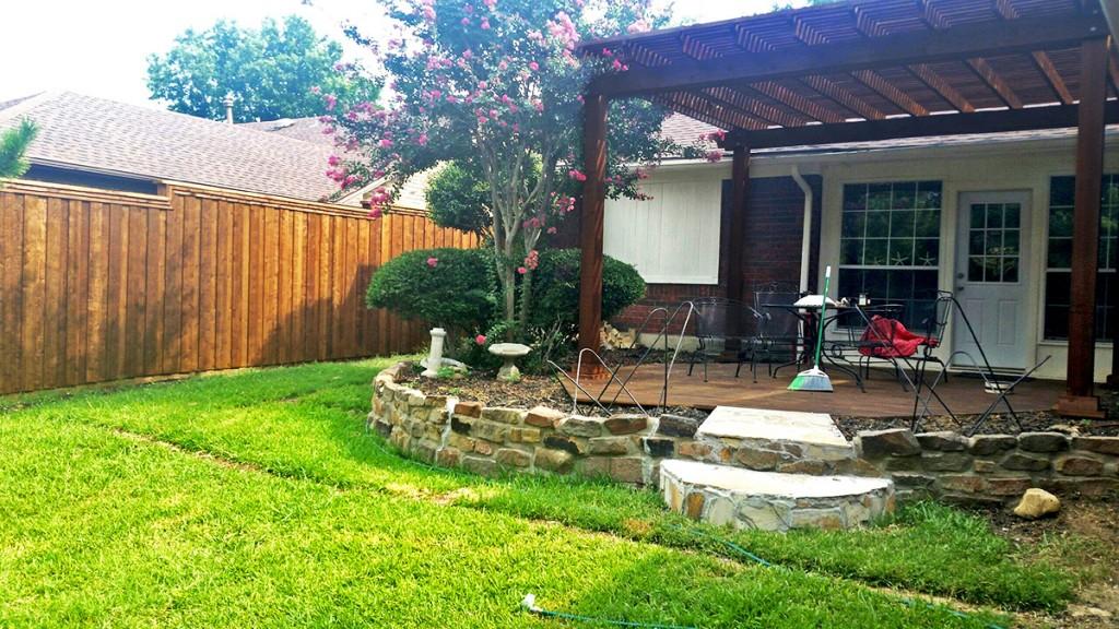 fence companies lewisville arbor cedar wood deck company