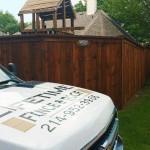 Standard Cedar Wood Fence w/ Cap