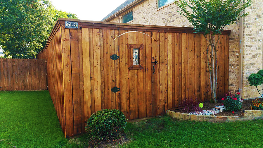 Fence Companies Denton TX Cedar Board on Board Fences Denton