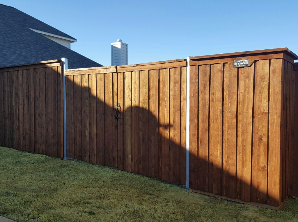 ... Types Of Wood Fences Backyard Fence Options Financing