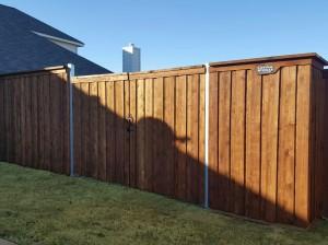 fence companies arlington tx arlington fence company wood fences