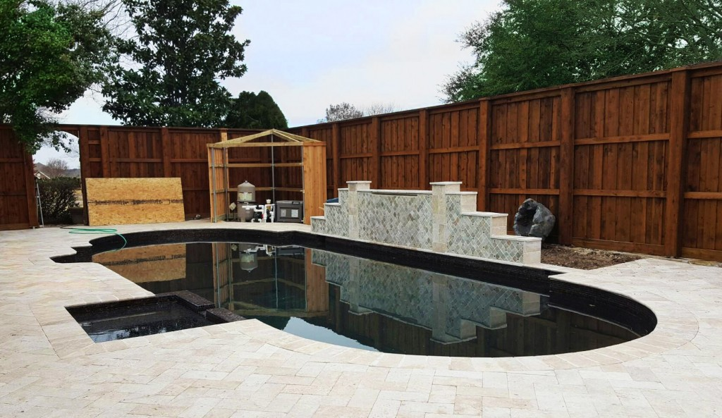 Pool Privacy Fence lifetime fence company | fence companies | roofing companies | patios