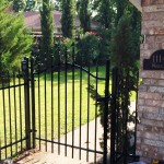 custom metal gate wrought iron gate