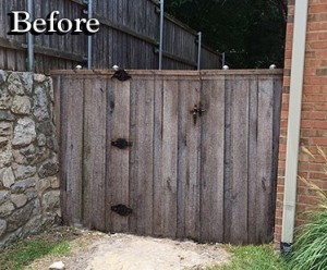 fence staining companies fence makeovers plano