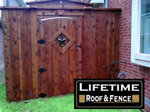 Cedar Board on Board Fence Gate