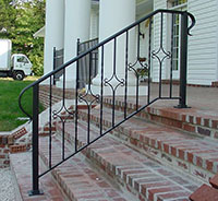 iron handrails Lewisville tx wrought iron fences