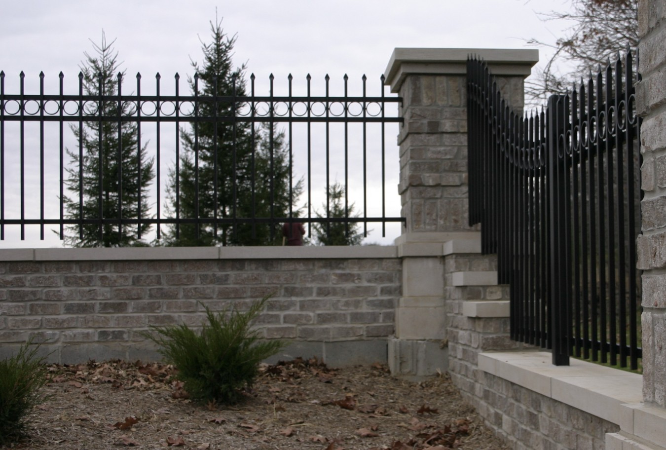 Iron Fence Decorative Finials Fence Companies Roofing Companies Lifetime