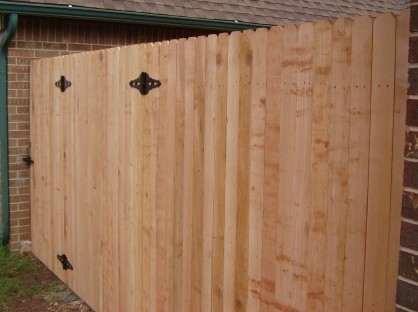 Basic Cedar Wood Fence