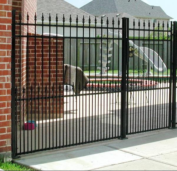 ... Iron Fencing Denton Black Metal Fence Denton Installation