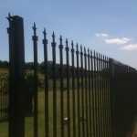 wrought iron metal fence frisco tx
