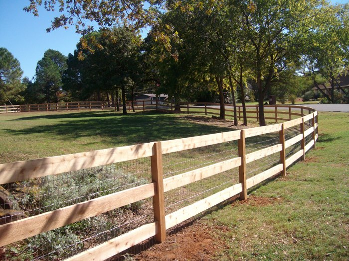 Split rail fences ranch style fences horse fence