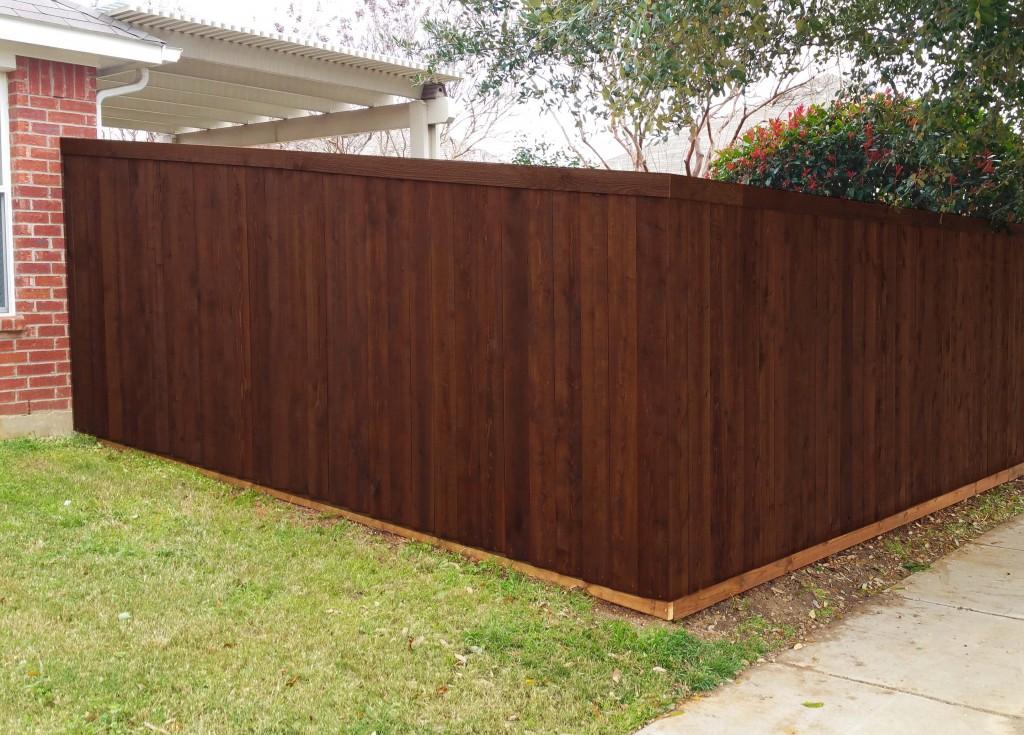 6 ft tall cedar wood fence frisco wood fences frisco