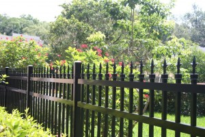 steel fence decorative finials