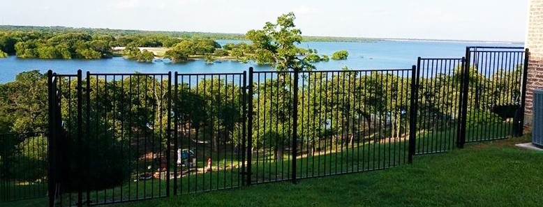 wrought iron metal fences aluminum fencing iron fence company