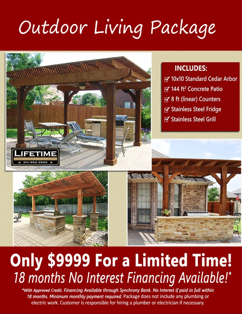 Outdoor Living Area Package