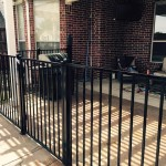 4 ft tall Metal Fence