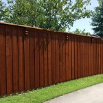 cedar wood privacy fence corbels cap trim 8 ft