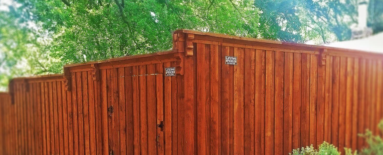 Flower Mound Fence Companies Wood