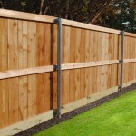 Standard Cedar Fence Un-stained