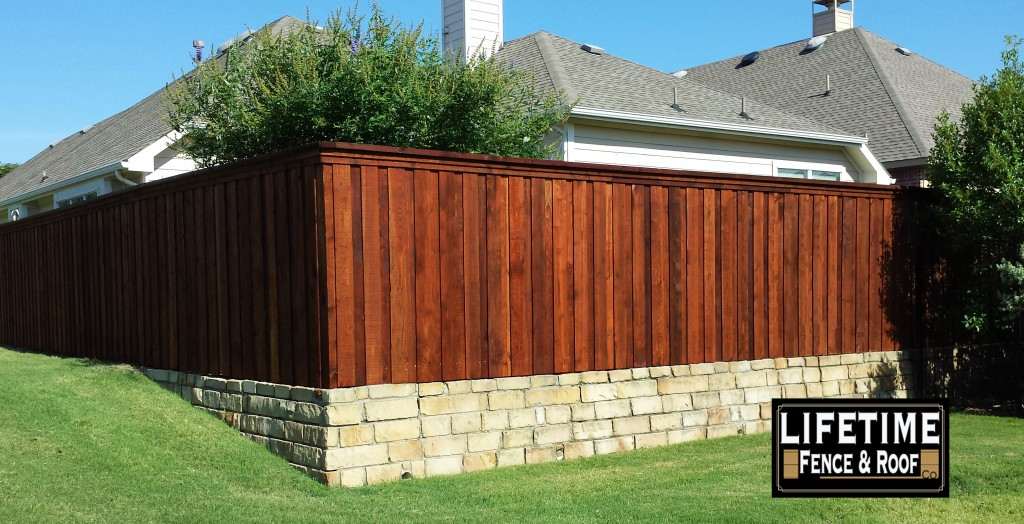 mckinney tx fence companies board on board cedar wood fence