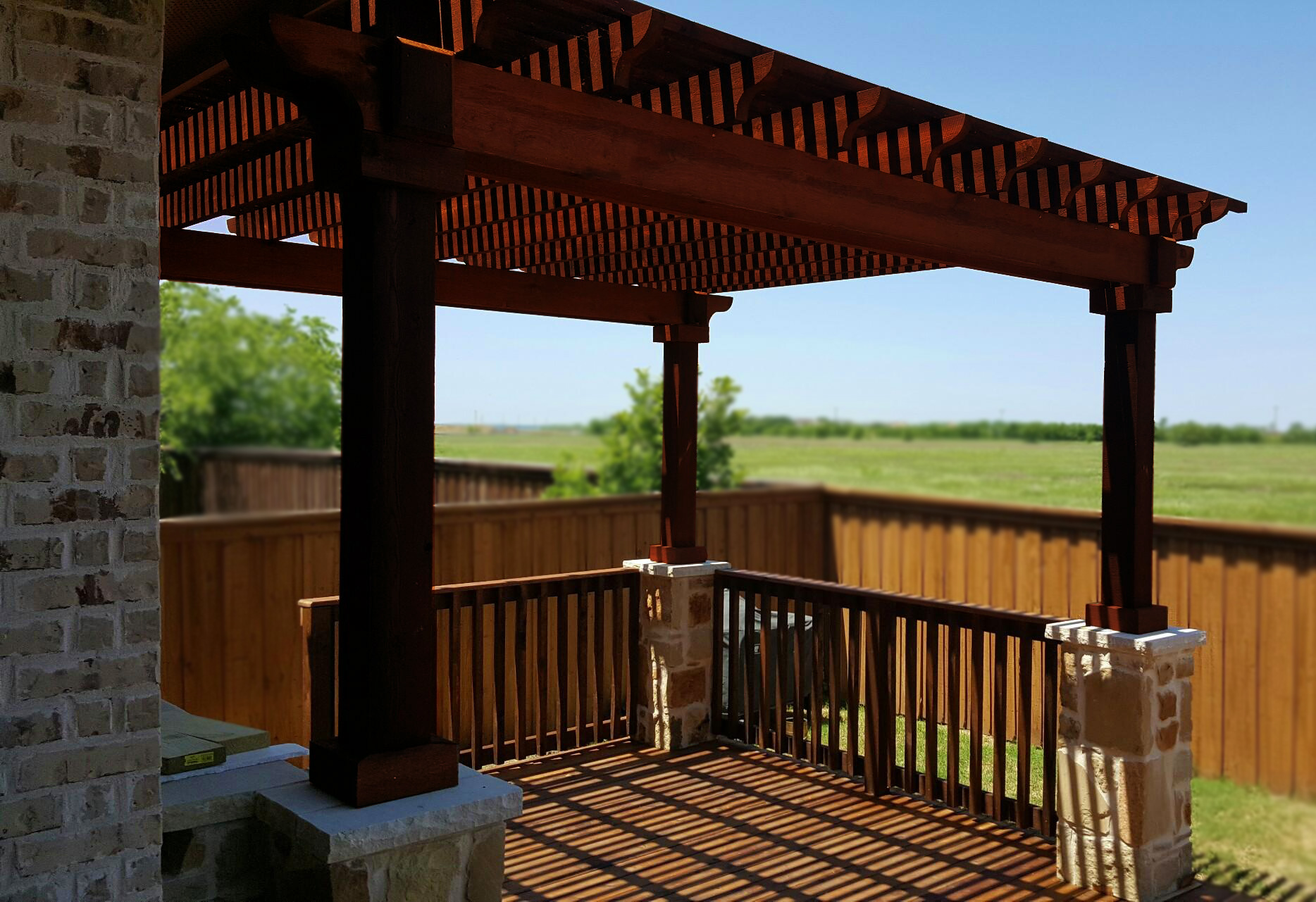 Denton Arbor, Deck, Pergola U0026 Patio Cover Installation  Gallery