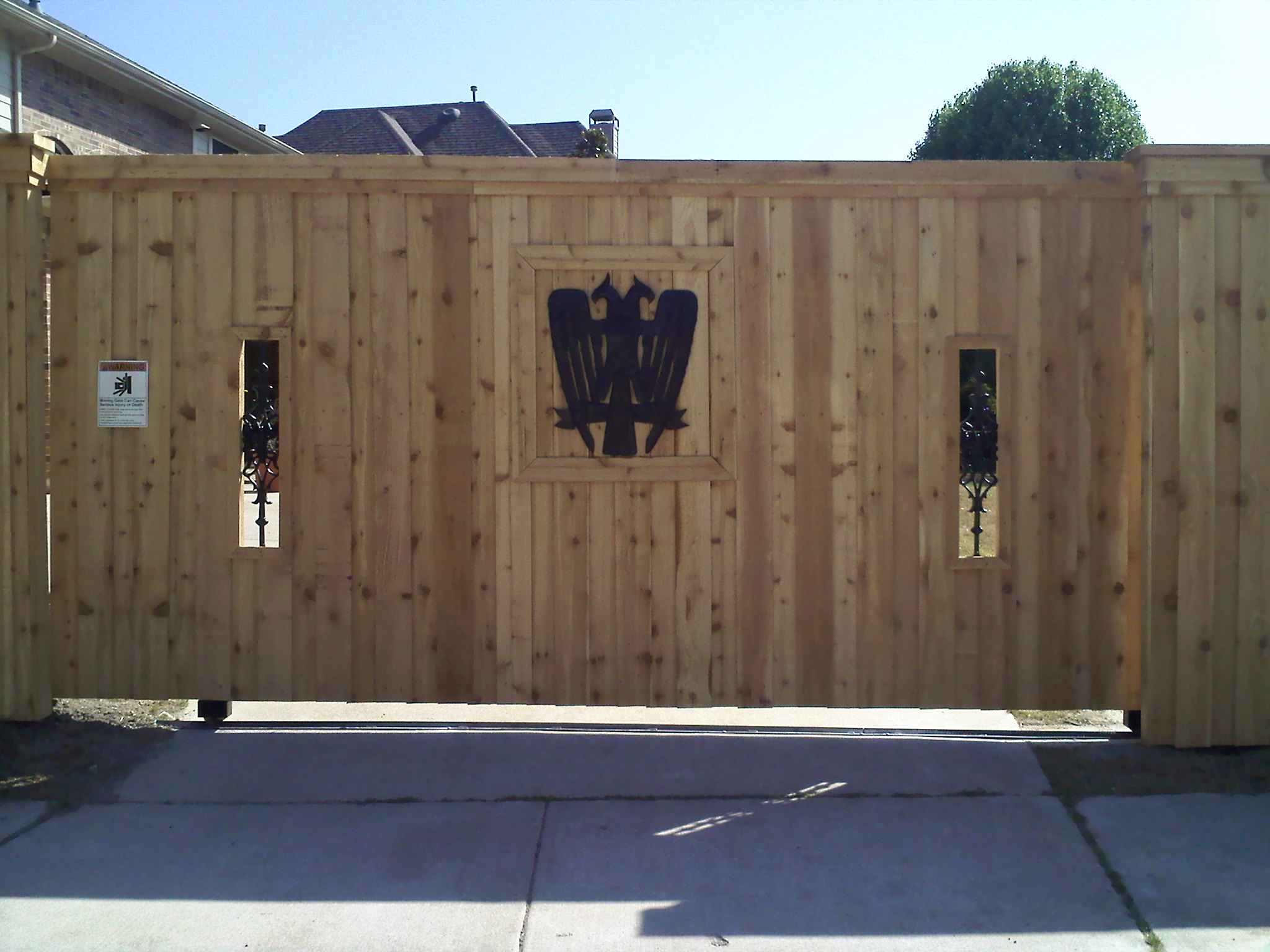 automatic gates and electric gate installation fort worth tx
