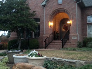 iron handrails denton tx installation