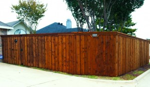 cost of a cedar board on board fence