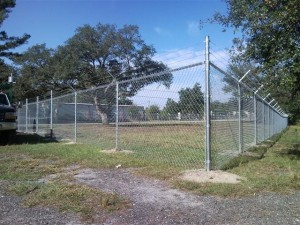 barbed wire security fence Denton tx chain link fence