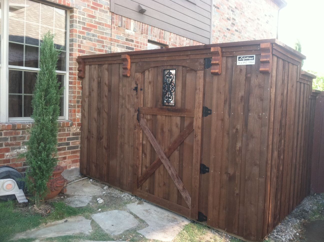 Privacy fences keller tx cedar wood board on board fences 8 ft 6 6 ft or 8 ft cedar board on board fences baanklon Gallery