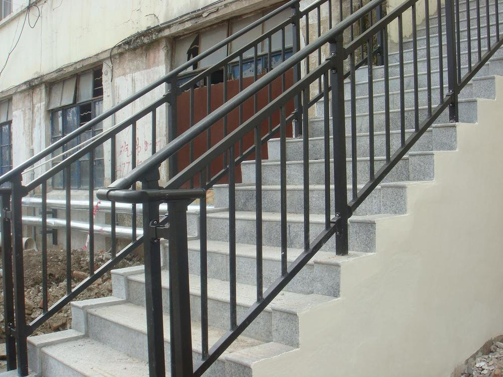 Custom Iron Handrail Iron Handrail Installation