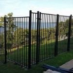 6 ft tall Basic Metal Fence