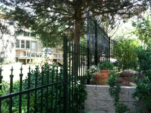 frisco fencing company metal fences iron fence frisco