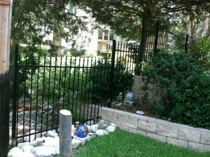 colleyville fence company metal fences iron fencing aluminum fences