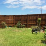 6' Privacy Fence w/ Boxed Posts
