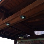 Shingled Patio Cover, View From Underneath