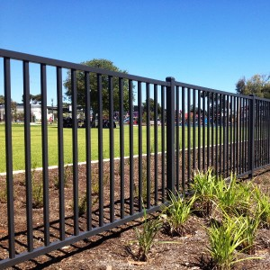 Wrought Iron Fencing metal fences steel fencing black