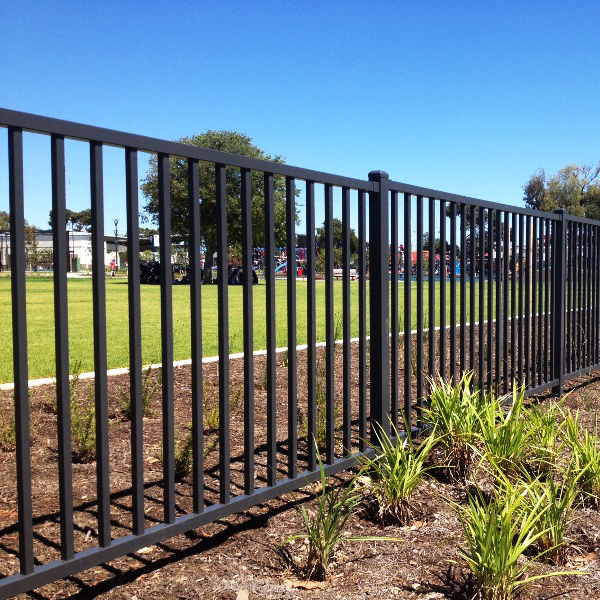 basic metal fence basic steel fence metal fence steel fencing companies