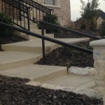 iron handrail installation