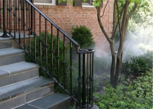 Fence Companies Colleyville TX | Metal Handrail Colleyville Stairway railings