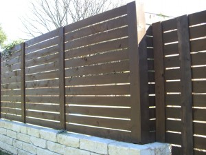 wood fence companies horizontal fences cedar wood fences