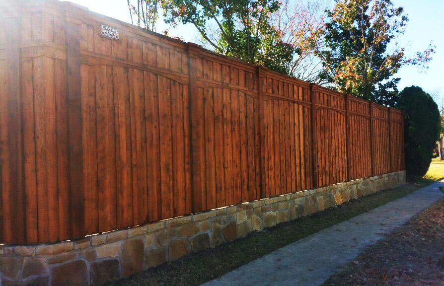 fence companies allen tx allen fence company wood fencing