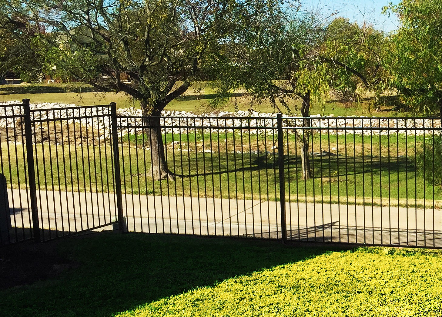 Iron Fence Panels Dallas Tx Outstanding Rod Iron Fence
