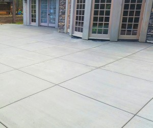 basic concrete patio backyard patio company