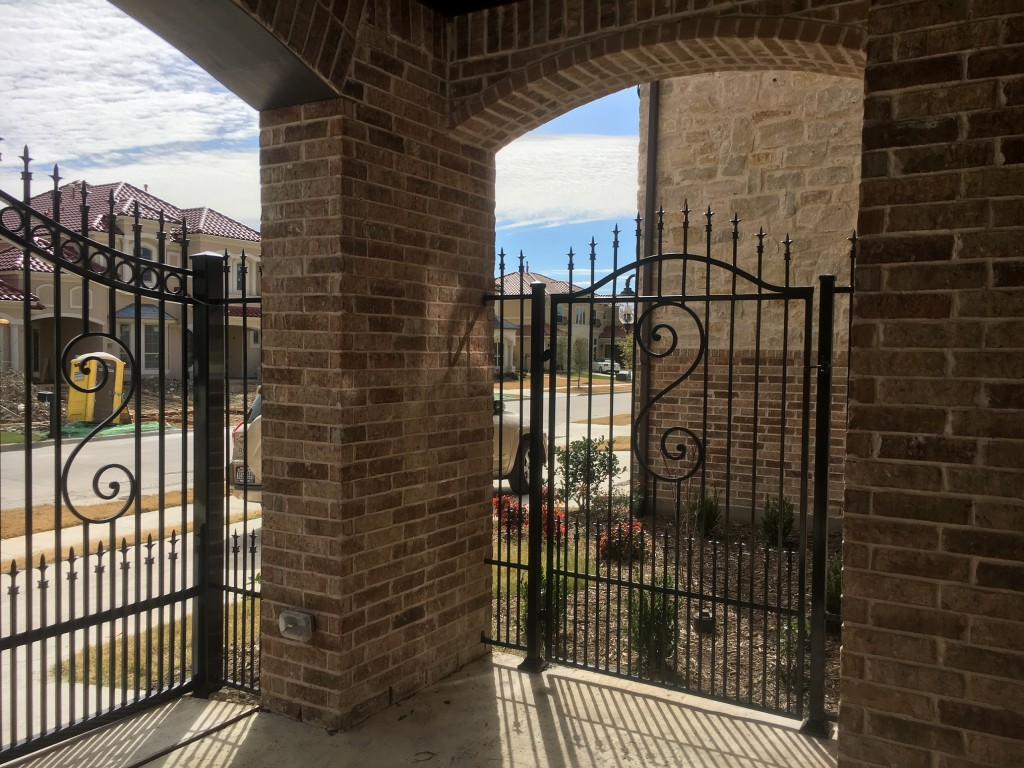 fence companies allen tx allen fence company iron gate metal gate