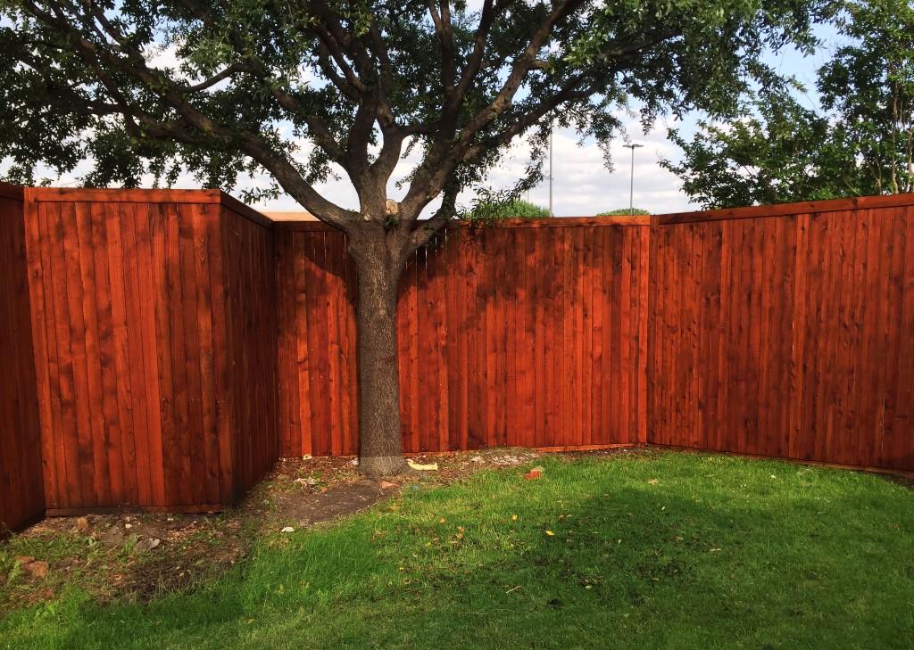 6 ft cedar fence