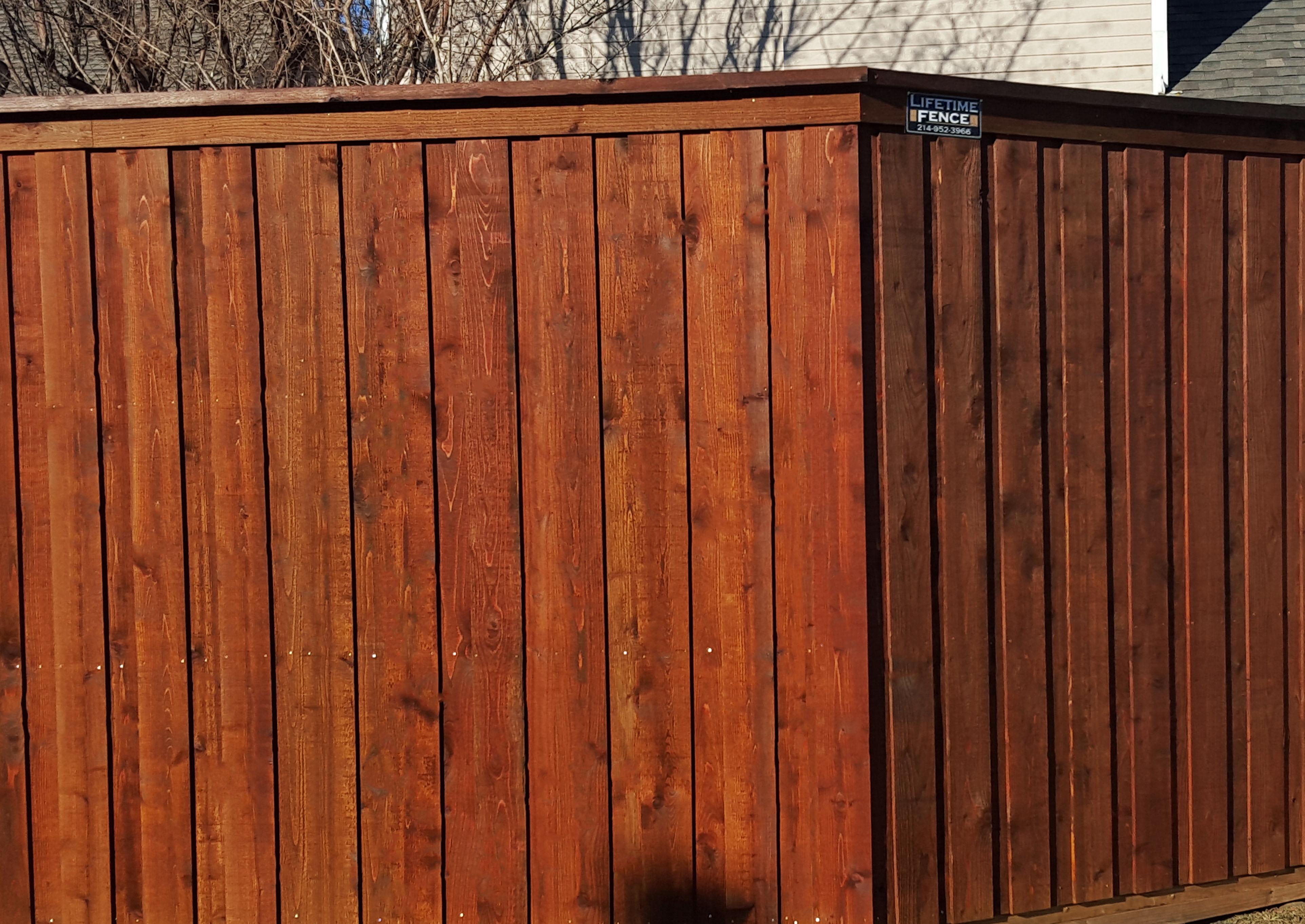 Board On Board Cedar Fence 6 Ft Fence Companies Gate Companies Lifetime Fence Company Frisco Fort Worth Denton Lewisville