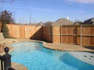 backyard fence cedar frisco tx wood fencing 6 ft metal posts frisco