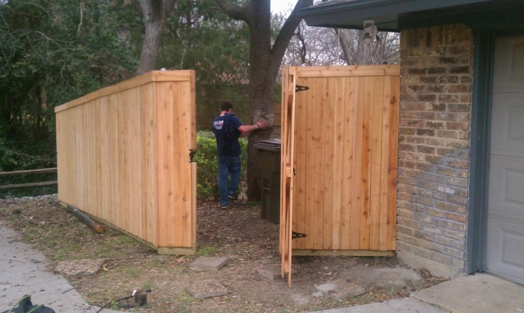 6 Ft Tall Cedar Wood Fence Fence Companies Gate