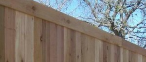 frisco 6 ft cedar wood fence basic backyard wood fence